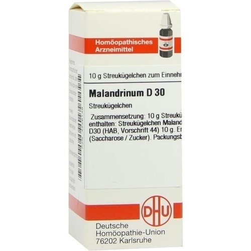 MALANDRINUM D 30 Globuli 10 g