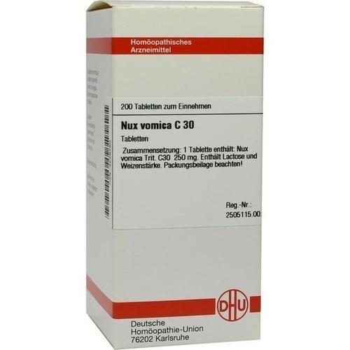 NUX VOMICA C 30 Tabletten