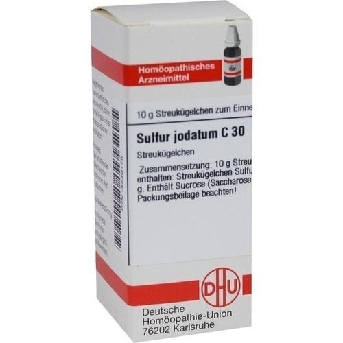 SULFUR JODATUM C 30 Globuli