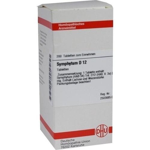 SYMPHYTUM D 12 Tabletten