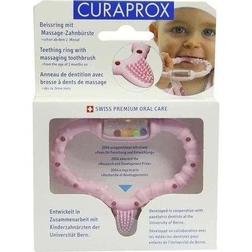 CURABABY Girl pink CBR Beißring