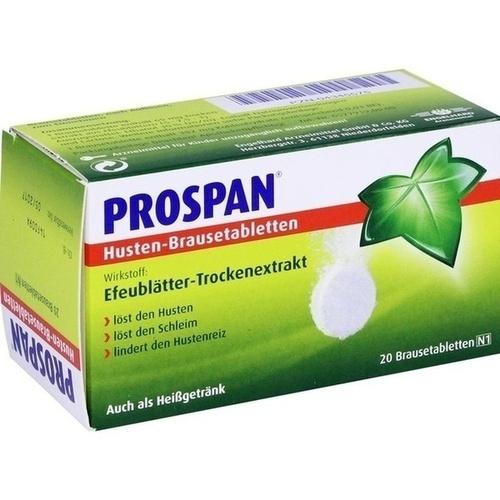 PROSPAN Husten Brausetabletten 20 St