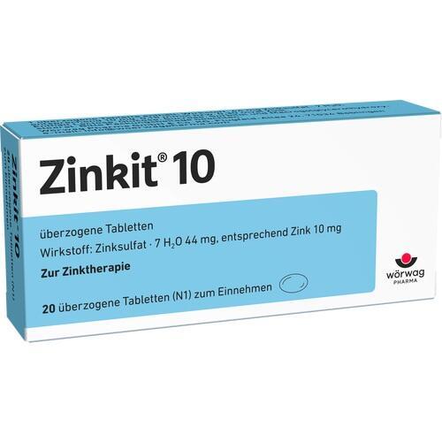 ZINKIT 10 überzogene Tabletten