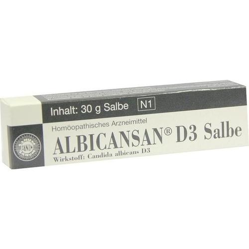 ALBICANSAN D 3 Salbe