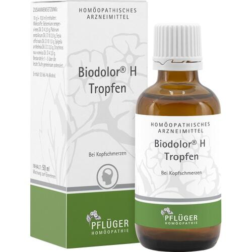 biodolor h tropfen 50 ml pfl ger hom opathie homoempatia versandapotheke. Black Bedroom Furniture Sets. Home Design Ideas
