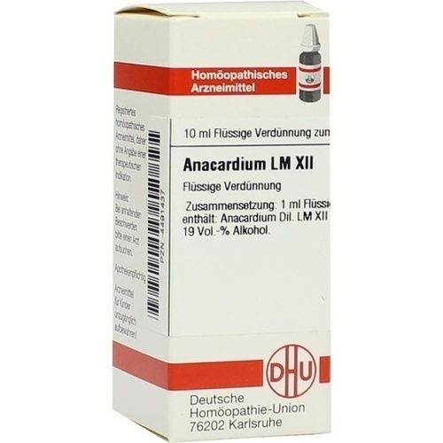 LM ANACARDIUM XII Dilution