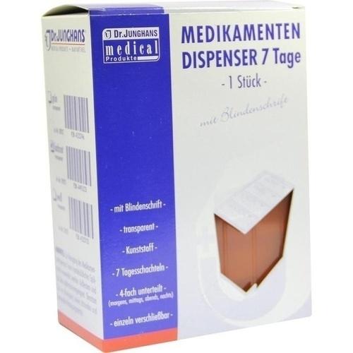 Dr. JUNGHANS MEDIKAMENTEN DISPENSER 7 Tag