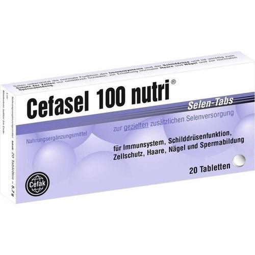 CEFASEL 100 nutri Selen-Tabs