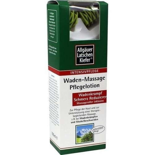 Allgäuer Latschenkiefer Waden-Massage Pflegelotion