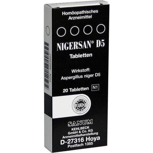 NIGERSAN D 5 Tabletten
