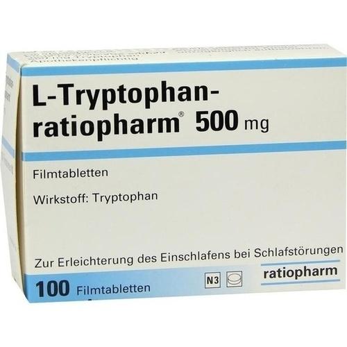 l tryptophan ratiopharm 500 mg filmtabletten 100 st. Black Bedroom Furniture Sets. Home Design Ideas