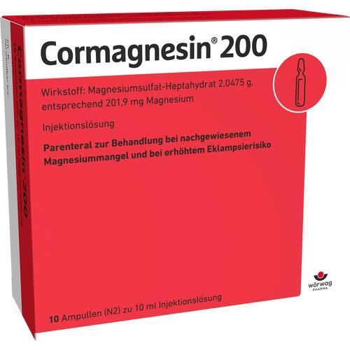 CORMAGNESIN 200 Fiole