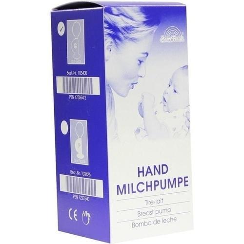 MILCHPUMPE FRANK Hand 2 1/4 Ball Glas 103400