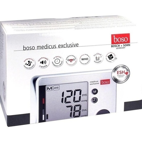 BOSO medicus exclusive vollautom. Blutdruckmessger.
