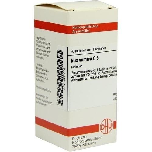 NUX VOMICA C 5 Tabletten