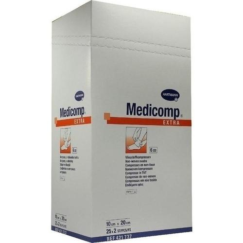 MEDICOMP extra Kompressen 10x20 cm steril