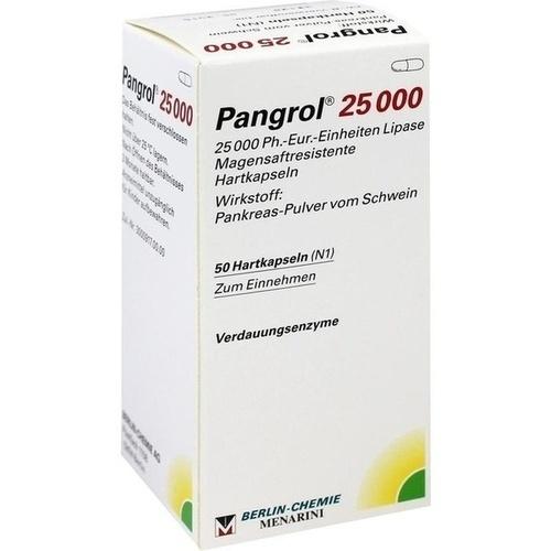 PANGROL 25.000 Hartkps.m.magensaftr.überz.Pell.