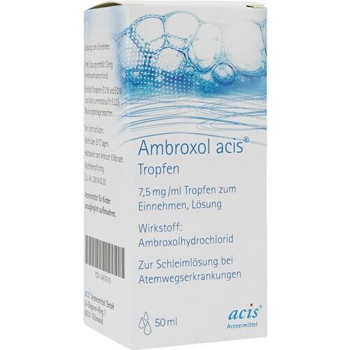 AMBROXOL acis Tropfen