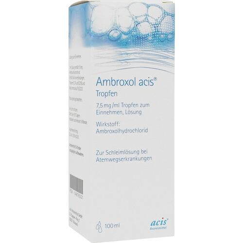 AMBROXOL acis Tropfen 100 ml