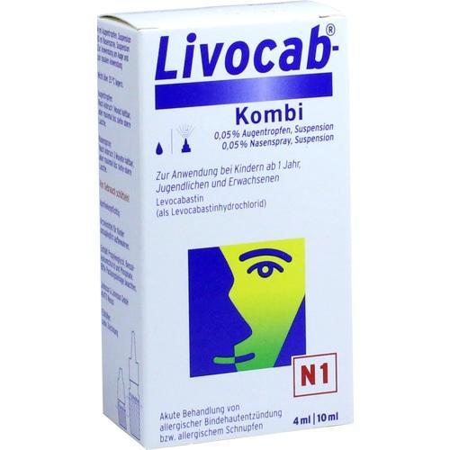 LIVOCAB Kombip.4 ml Augentr.+10 ml Nasenspray