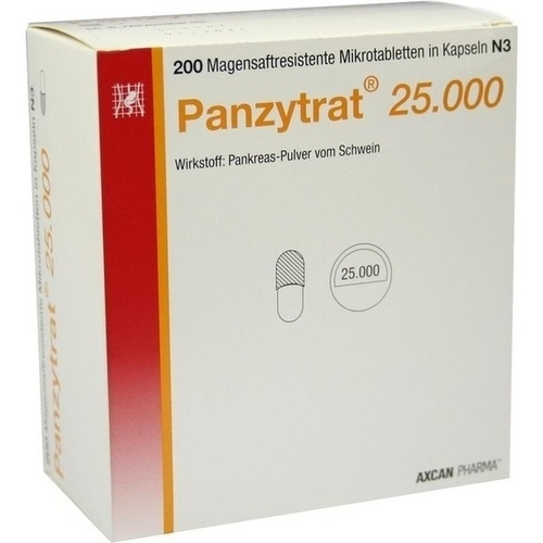 PANZYTRAT 25.000 Kapseln