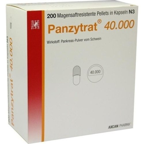 PANZYTRAT 40.000 Kapseln