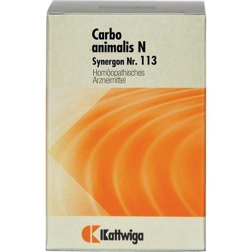 SYNERGON KOMPLEX 113 Carbo animalis N Tabletten
