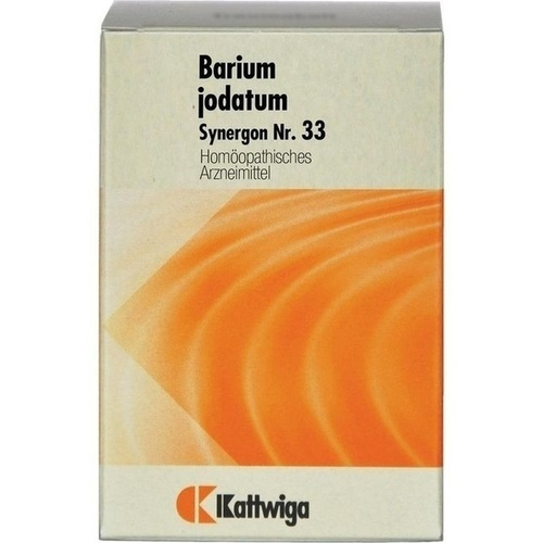 SYNERGON KOMPLEX 33 Barium jodatum Tabletten