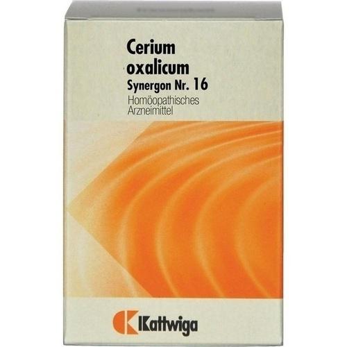SYNERGON KOMPLEX 16 Cerium oxalicum Tabletten