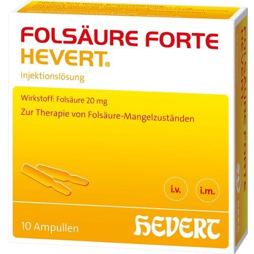 Folsäure forte Hevert Ampullen 10 St.