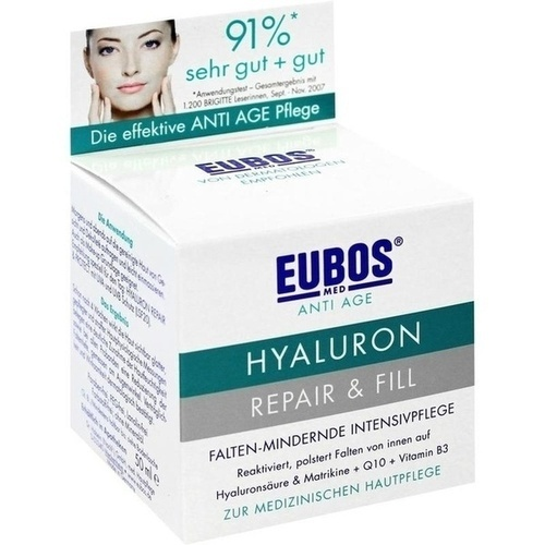 EUBOS SENSITIVE Hyaluron Repair & Fill Creme GRATISPROBE