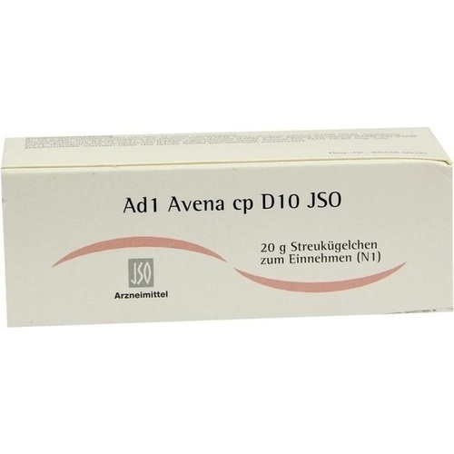 JSO Ad 1 Avena cp D 10 Globuli