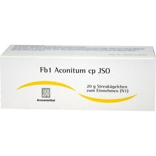 JSO Fb 1 Aconitum cp Globuli