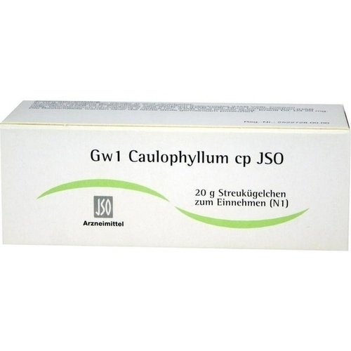 JSO Gw 1 Caulophyllum cp Globuli