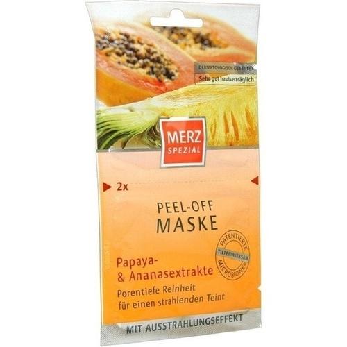 MERZ Spezial Peel-off Maske Papay. /Ananasenz.
