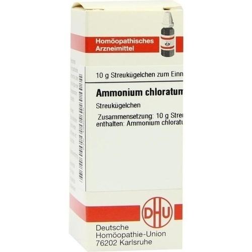 AMMONIUM CHLORATUM D 30 Globuli