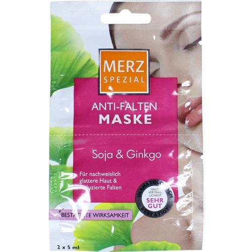MERZ Spezial Anti Falten Maske Soja+Ginkgo