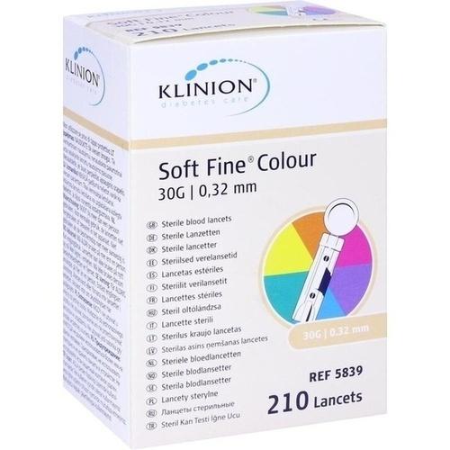 KLINION Soft fine colour Lanzetten 30 G