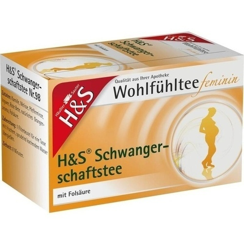 H&S Wohlfühltee feminin Schwangerschaftstee