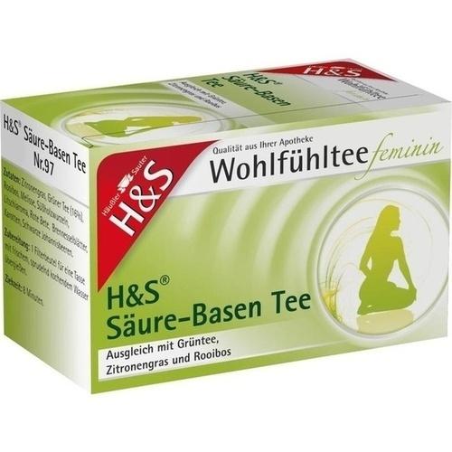 H&S Wohlfühltee feminin Säuren Basen Tee Filterb