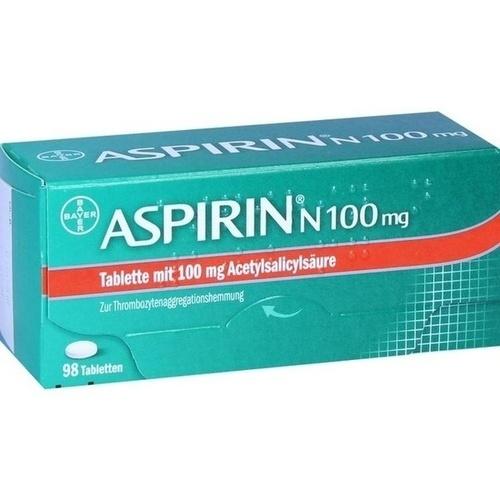ASPIRIN N 100 mg Tabletten