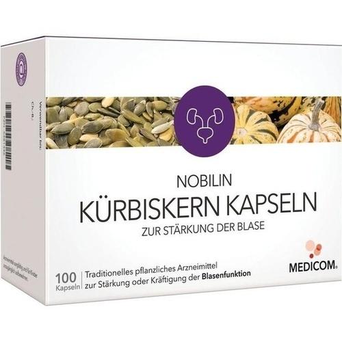 NOBILIN Kürbiskern Kaps. z. Stärkung d. Blase