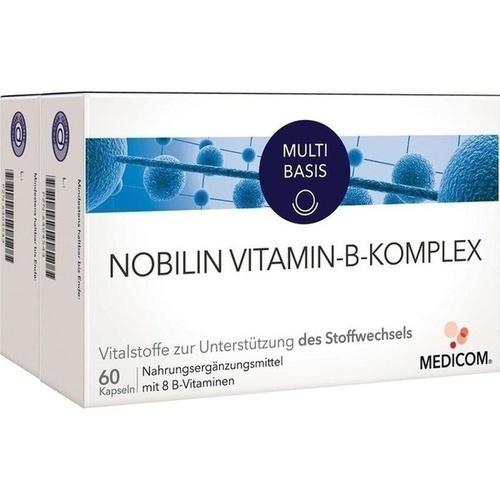 NOBILIN Vitamin B Komplex Kapseln 2X60 St