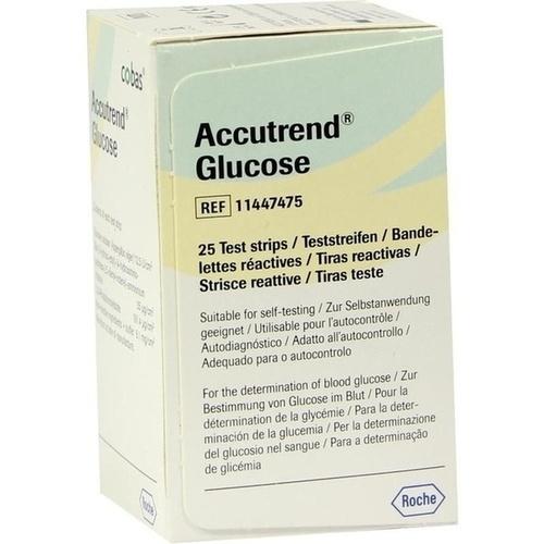 ACCUTREND Senzori pentru măsurarea glicemiei