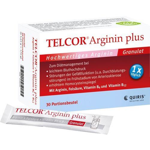 Quiris Healthcare GmbH & Co. KG TELCOR Arginin plus Btl. Granulat 30 St