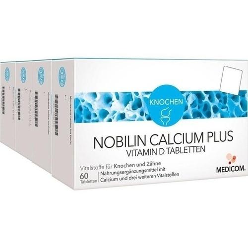 nobilin calcium plus vitamin d tabletten 4x60 st pzn 05532204. Black Bedroom Furniture Sets. Home Design Ideas