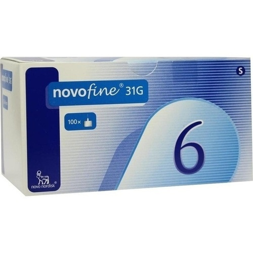 NOVOFINE 6 Kanülen 0,25x6 mm