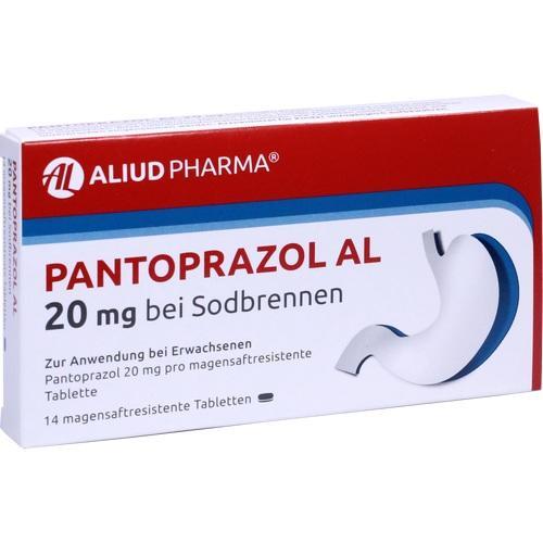 PANTOPRAZOL AL 20 mg bei Sodbr.magensaftres.Tabl.