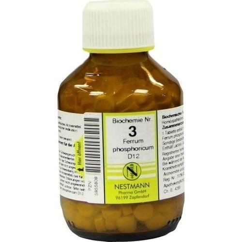 BIOCHEMIE 3 Ferrum phosphoricum D 12 Tabletten