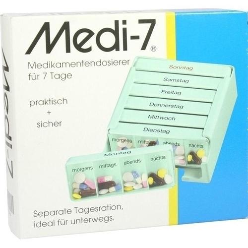 MEDI 7 Medikamentendos. f. 7 Tage türkis